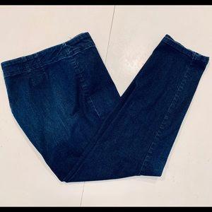 Talbots Side zip 14P flattering jeans